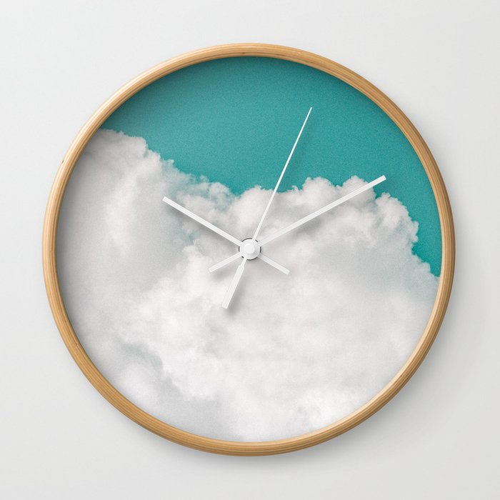 Dreaming Of Mountains Wall Clock