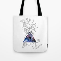 Space Snakes Tote Bag