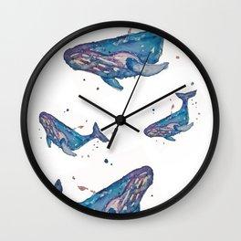 Whale Splash Wall Clock
