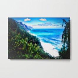 Silent Sage 0015 Kauai Metal Print