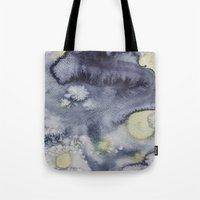 van gogh Tote Bags featuring Van Gogh by Living Out Loud Design