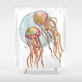 Jumpin Jellyfish Shower Curtain