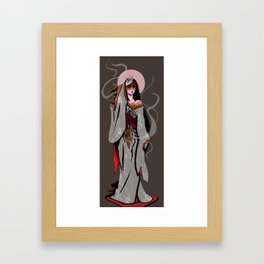 Izanami the Mourning Star Framed Art Print