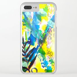 Bhukara XVII Clear iPhone Case