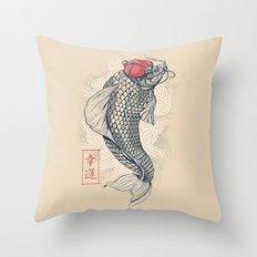 Americanized Throw Pillow