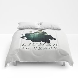 Lich (Typography) Comforters