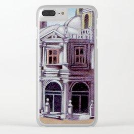 postcard from Basilica de San Francisco el Grande, Madrid, Spain Clear iPhone Case