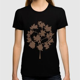 Fall's Forest Pattern V2 T-shirt