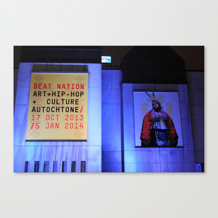 Beat Nation Montreal Canvas Print