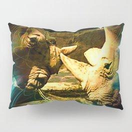 Rhinos Pillow Sham