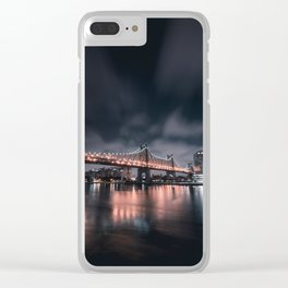59th Street Bridge Clear iPhone Case