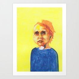 Les petites filles I.33 Art Print