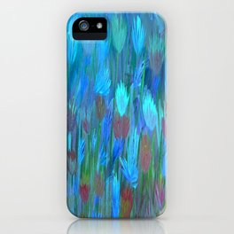 Field of Flowers Moon Glow iPhone Case