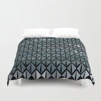 scales Duvet Covers featuring Scales by Xaphedo