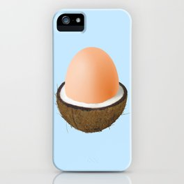 Coco-egg iPhone Case