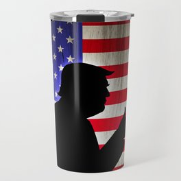 Trump Charicature Travel Mug
