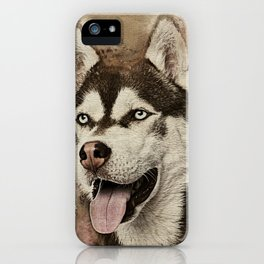Siberian Husky iPhone Case