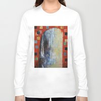 dick Long Sleeve T-shirts featuring Moby Dick by Michael Creese