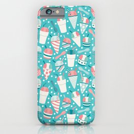 Snow Cones iPhone Case