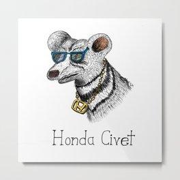 Honda Civet Metal Print