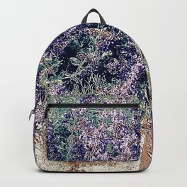 Lavender And Stone Backpack