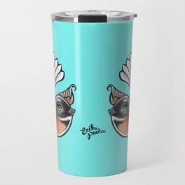 Fantail - Aqua Travel Mug