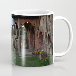 Thatched Cottage by the Pond Coffee Mug