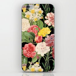 Vintage Floral Pattern   No. 1A iPhone Skin