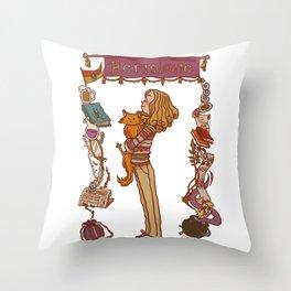 Hermione Throw Pillow