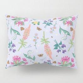 Violets Honeysuckle & Lavender Pattern Pillow Sham