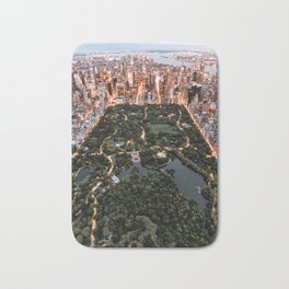 Central Park New York Bath Mat