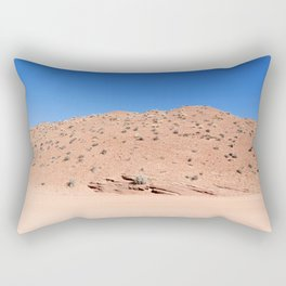 Four-Wheel-Driving Through the Pinks and Blues of Antelope Canyon 04 Rectangular Pillow
