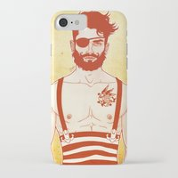 sailor iPhone & iPod Cases featuring Sailor by Ismael Álvarez