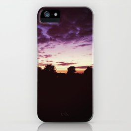 Oh Mystical Sky Above iPhone Case