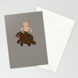 Putin Rider Stationery Cards