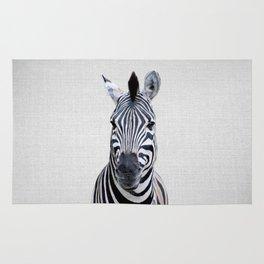 Zebra - Colorful Rug