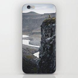 Man on the Edge iPhone Skin