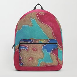 top side up (that side) Backpack
