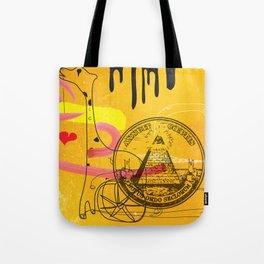 Handicapped Giraffe Tote Bag