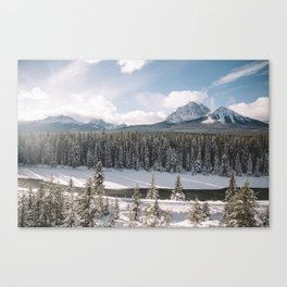 Light and Lines Canvas Print
