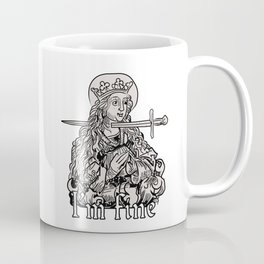 I'm fine - classical art memes Coffee Mug