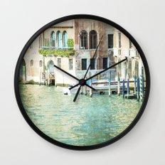 La Canal - Venice Wall Clock