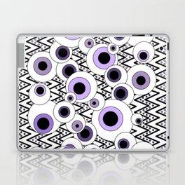 Peekaboo - Purple Laptop & iPad Skin