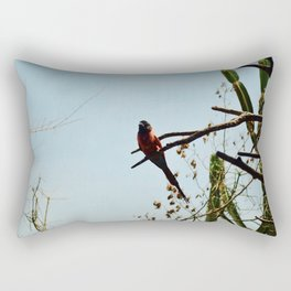 Red bird Rectangular Pillow