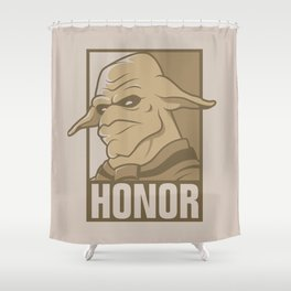 For the Honor Shower Curtain