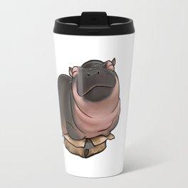 HippoCat's Cardboard Box Travel Mug