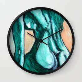 GreenLady Wall Clock