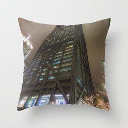 Hancock Center Chicago 360 Throw Pillow