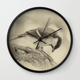 small bow Wall Clock