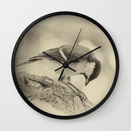 small bow Wall Clock